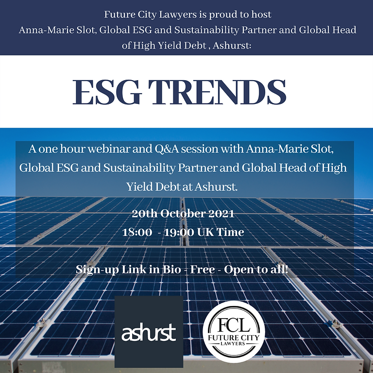 ESG TRENDS with Ashurst X FCL