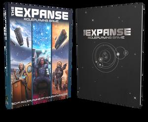 Expanse RPG rulebooks