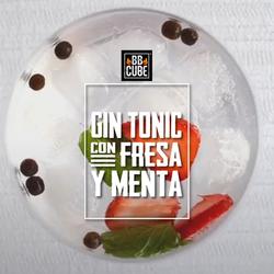 Gin-Tonic-con-Fresa-y-Menta