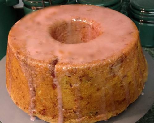 Lemon Or Strawberry Cream Cheese Pound Cake