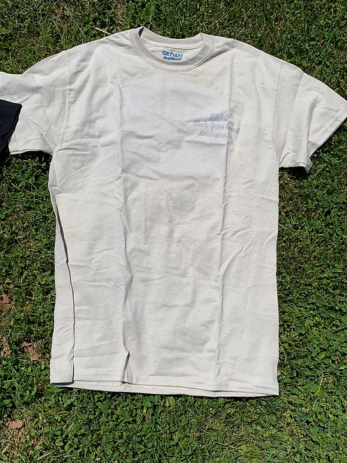 Discount T-shirt (Tan w/ Gray Lettering)