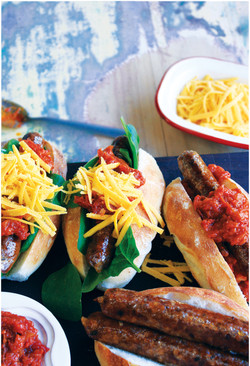 Smoked Chilli & Paprika Sausage