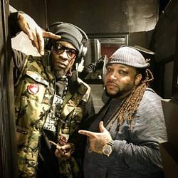 Mr. Cheeks & Big Zay studio wave