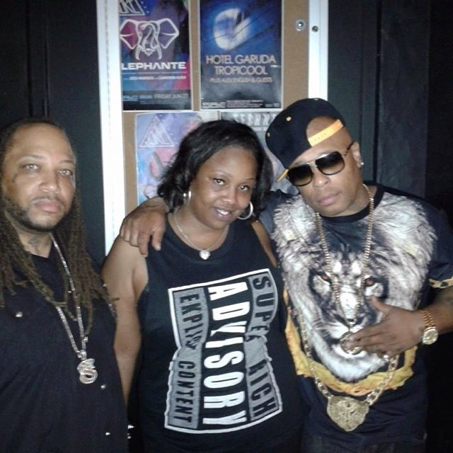 Big Zay & Brandy K with Flip Mode Spliff Star