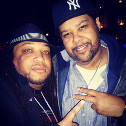 Big Zay and Tuffy Questell from Video Music Box my brother from another Mother