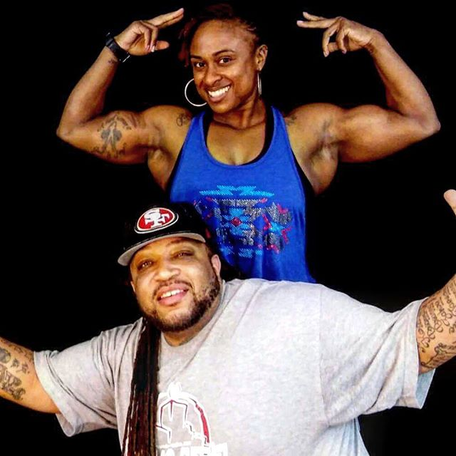 Big Zay & Female Body Building Champion Ms