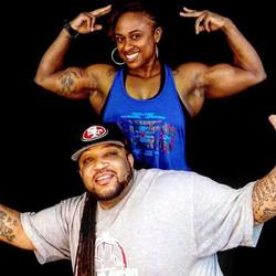Big Zay & Female Body Building Champion Ms