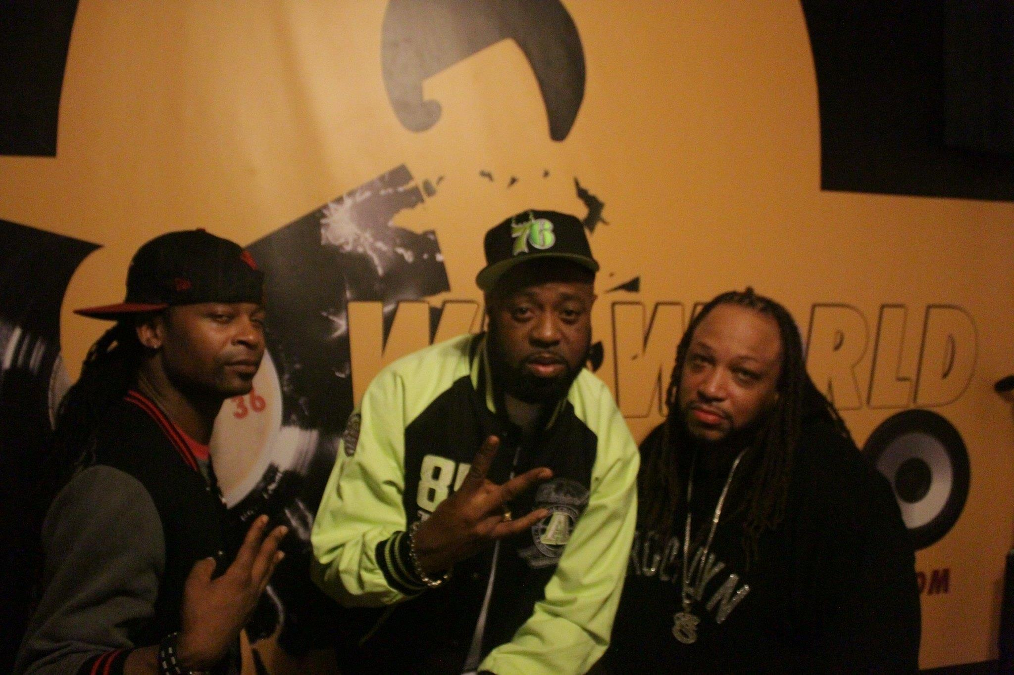 Cheef Bali , Cappadonna from the Wu Tang Clan & Big Zay