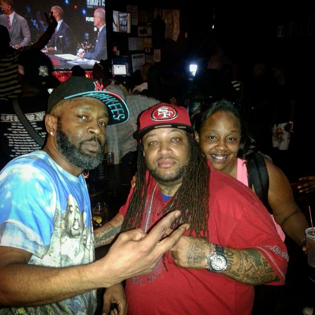 Rapper Tech Nine, Big Zay & Brandy K