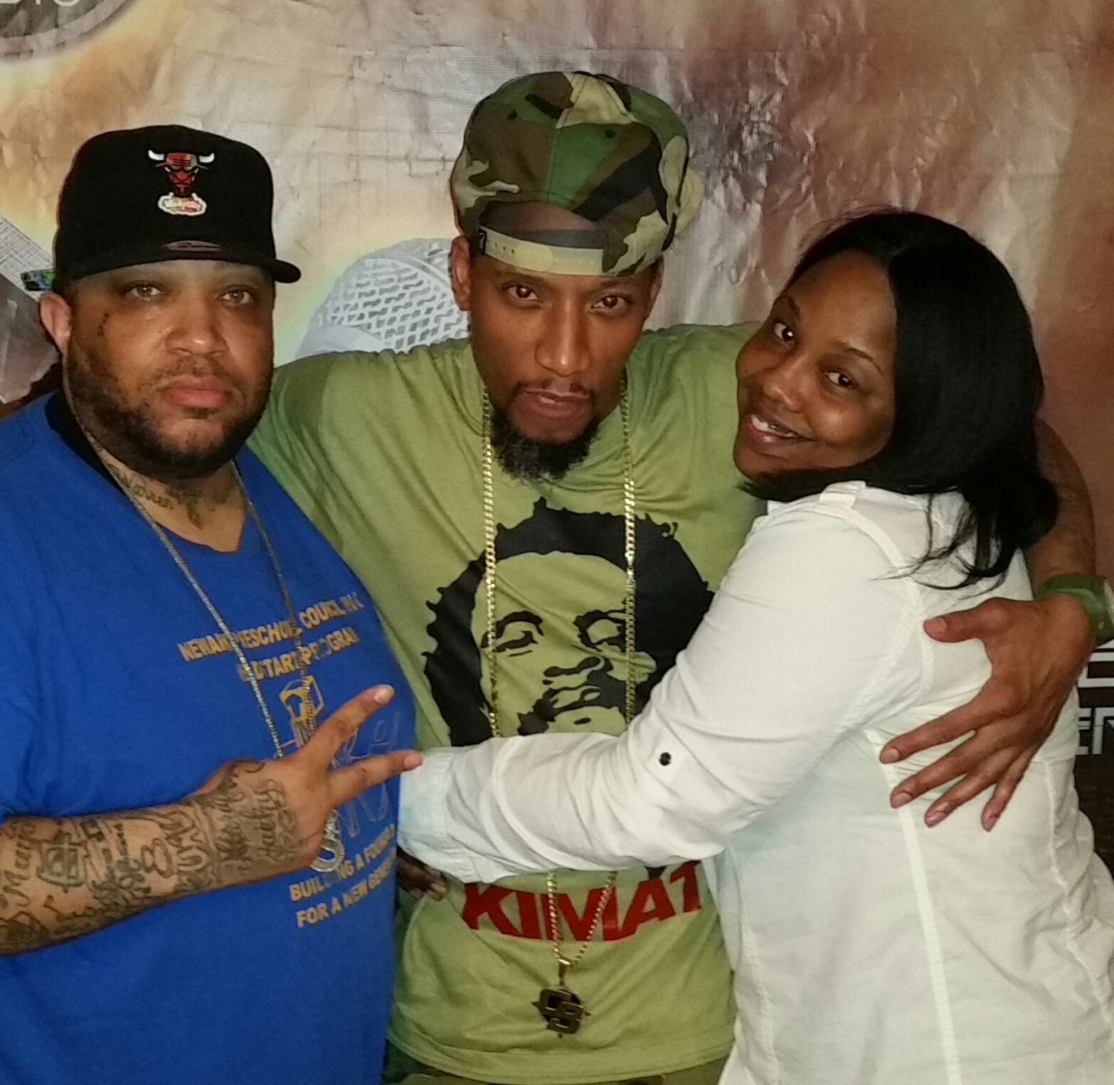 Big Zay Legendary General Steele from the Hip Hop group Smif-n-Wessun plus Brandy K