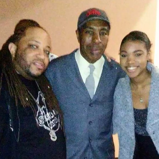 Big Zay, Oran Juice Jones and Daughter Perri Jones