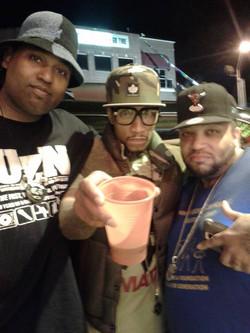 J Crush, General Steele & Big Zay