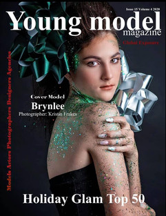 Young Model Cover Kristin Frakes Brynlee