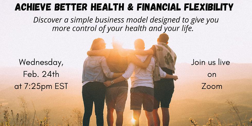 Achieve Better Health & Financial Flexibility