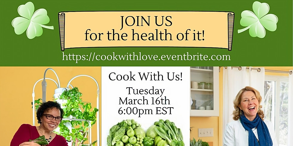 """""""Cook With Us!"""" Hosted by Lolli Leeson"""