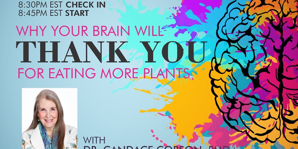 Why Your Brain Will THANK YOU For Eating More Plants