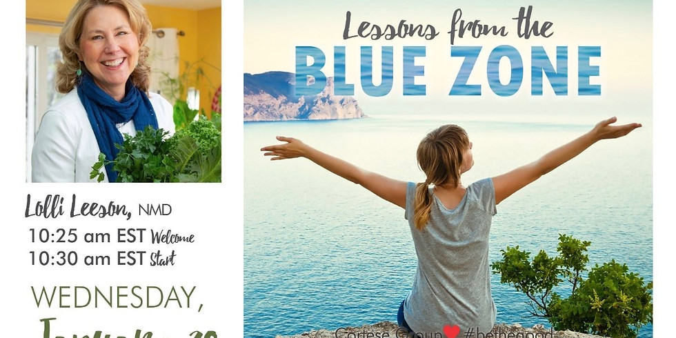 Lessons from the Blue Zones