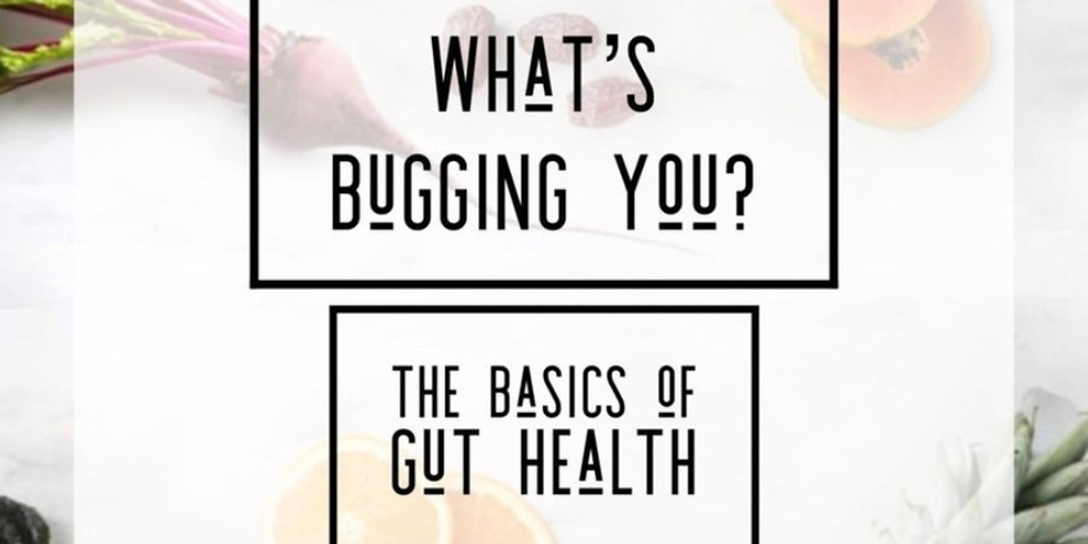 What's Bugging You?  The Basics of Gut Health