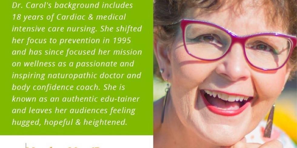 Make It Happen Monday - Dr. Carol Watson
