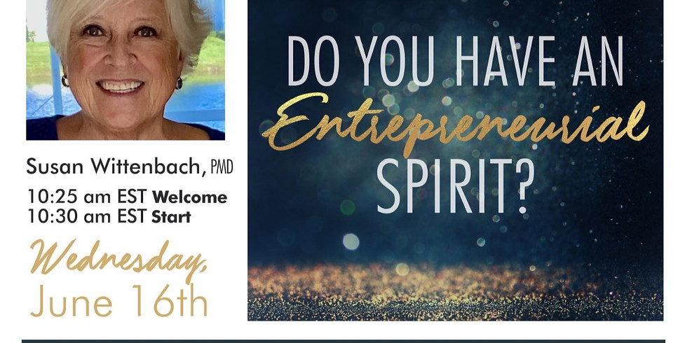 Do You Have an Entrepreneurial Spirit!?