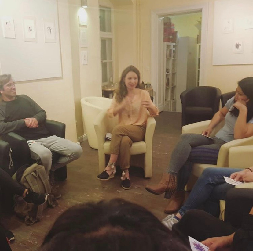 Workshop with Hannah Schorch