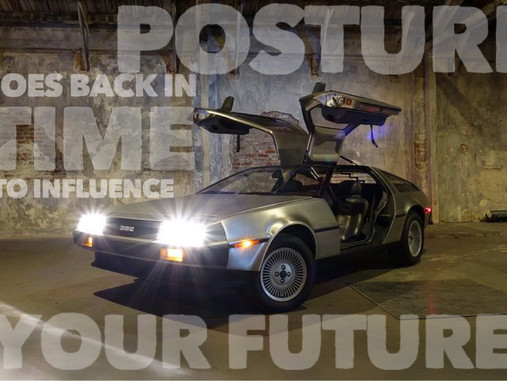 Sometimes you have to go back in time to influence the future…