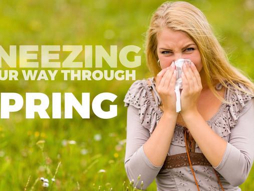 Seasonal Allergies May Be Inside Out