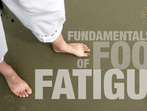 NEWS: Foot Fatigue May Be Why Your Dogs Are Barking!