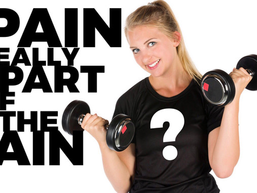 Exercise and Weight Loss Cause Enough Pain to Stop All Efforts… But, Why?