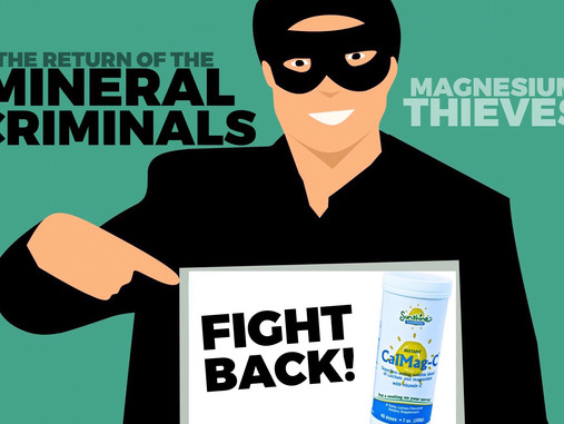 Mineral Criminals Are Back: Magnesium Thieves