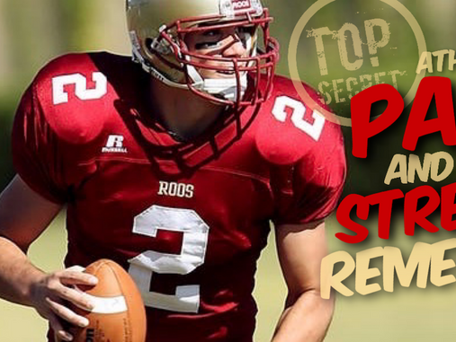 What Pain and Stress Relief Secrets Are Athletes Keeping to Themselves?