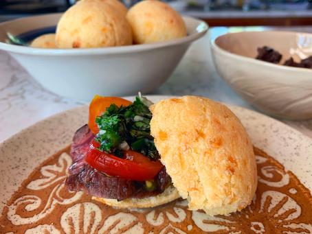 Cheese Dots™ Steak Sandwich + Chimichurri