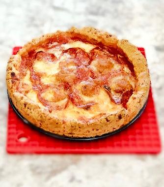 Deep Dish Cheese Dots™ Pizza