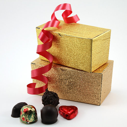 Ballotin of assorted small chocolates