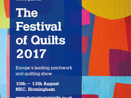 Festival of Quilts update...