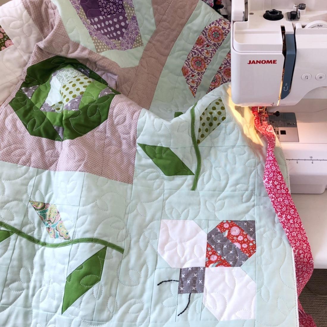 Kitchen Garden quilt