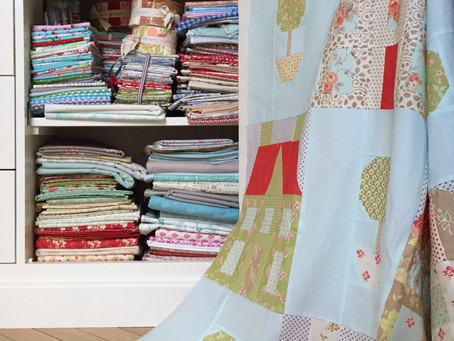 So much fabric, so little time...