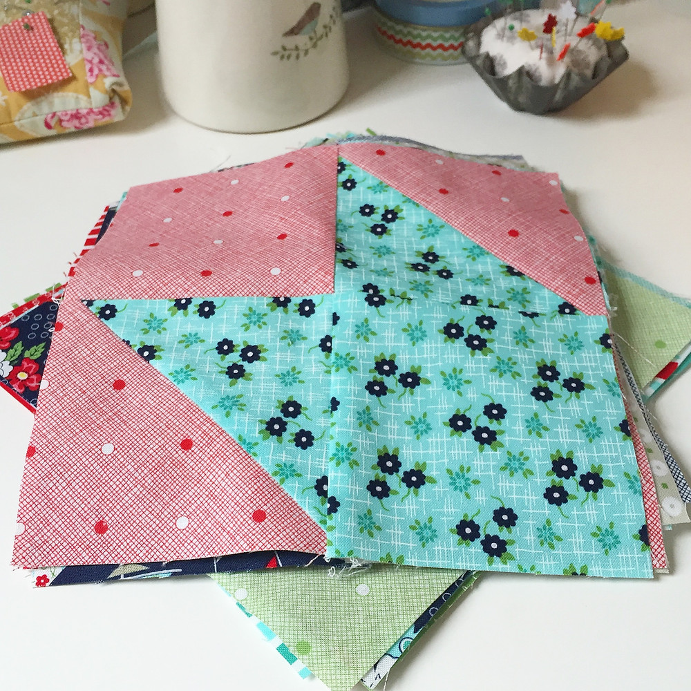 make sail boat quilt cakestand