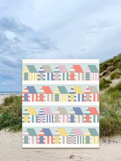 Beach Huts Quilt
