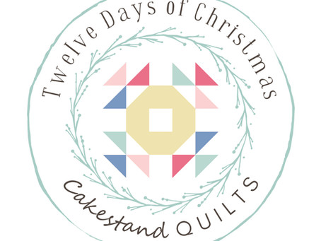 Introducing the Twelve Days of Christmas block of the month...