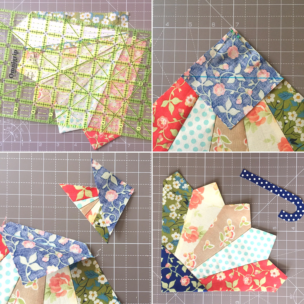 cakestand quilts brolly block