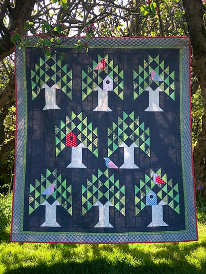 Roosting Paper Pattern