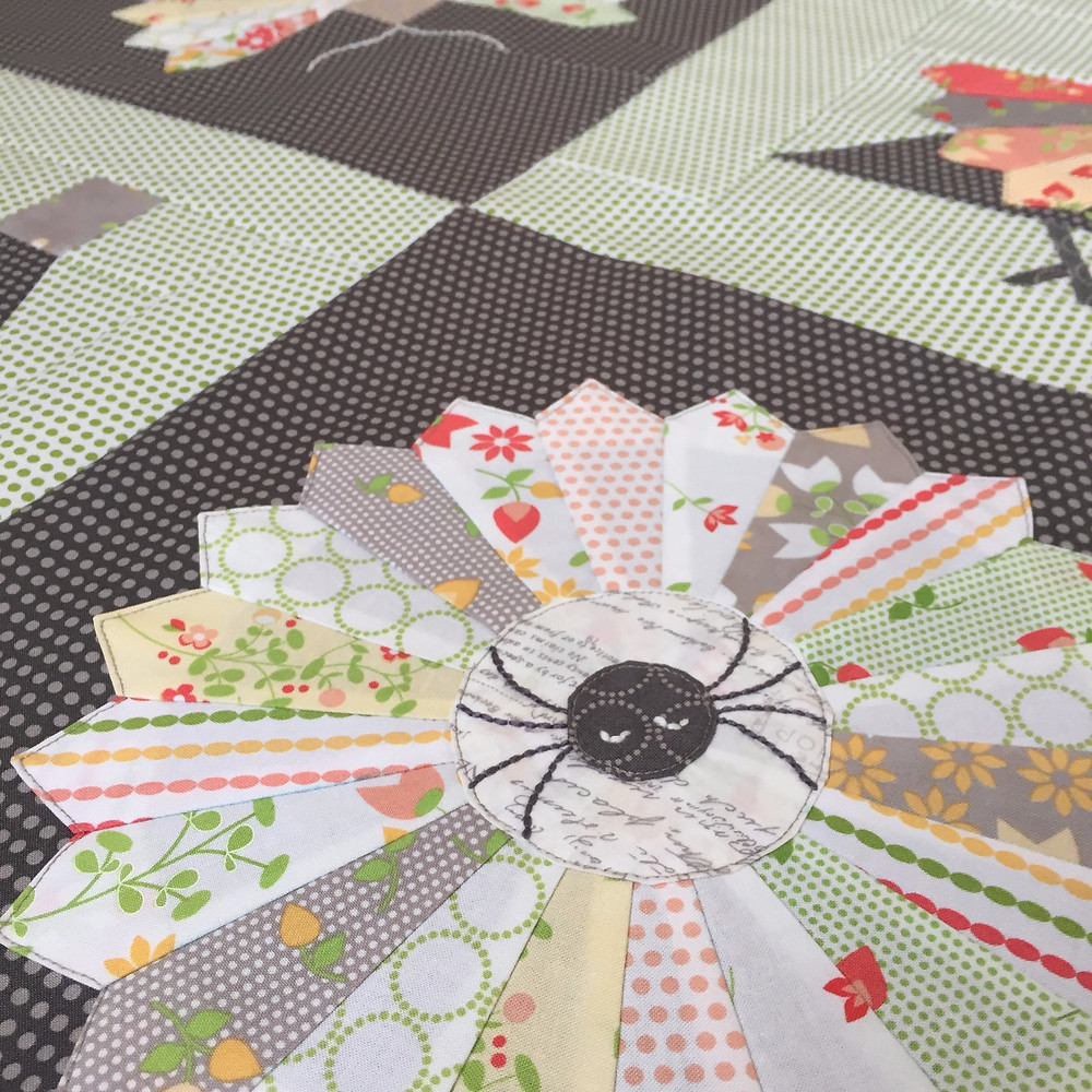 cakestand quilts spellbound sampler finishing tutorial nicola dodd