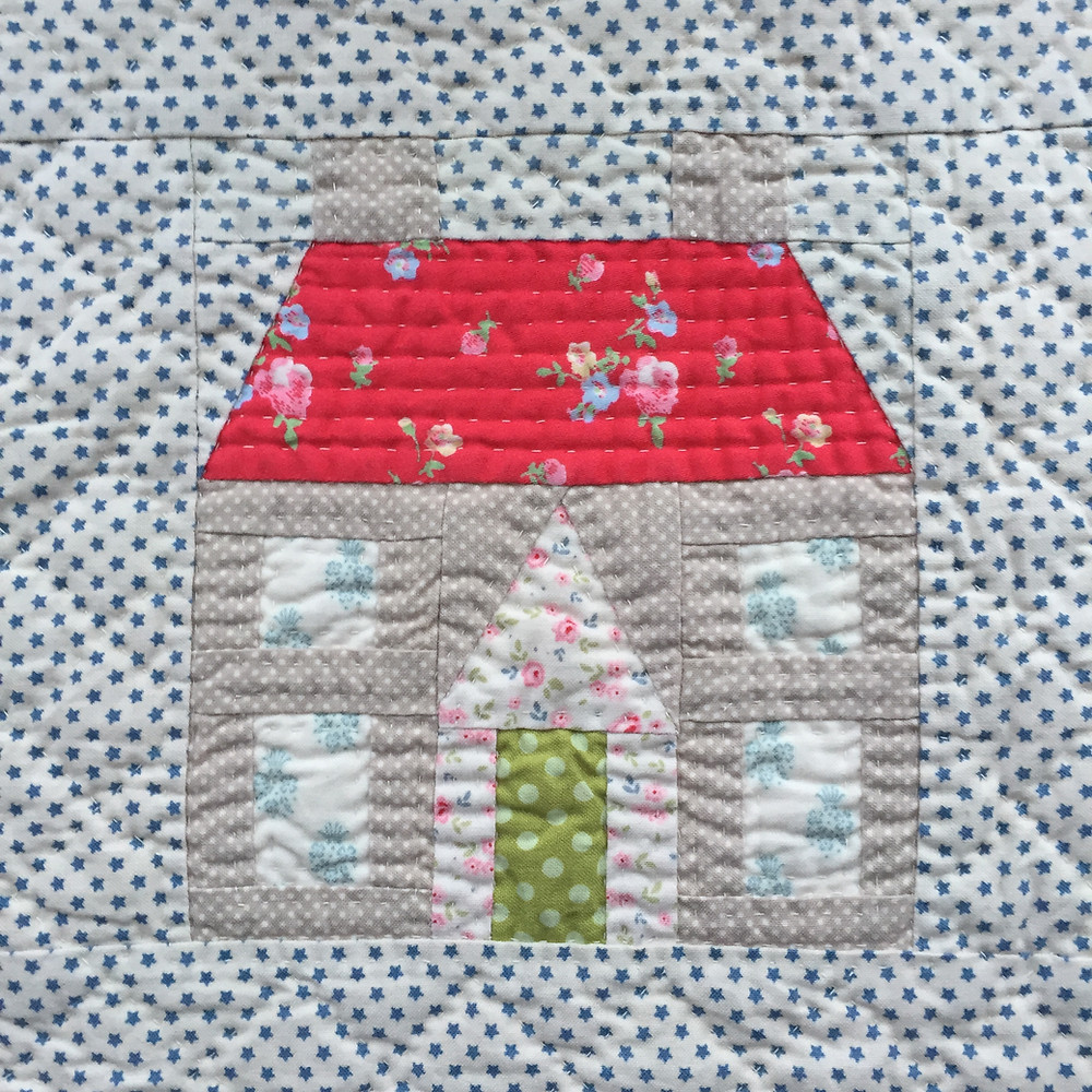 Dolls House mini by CakeStand Quilts