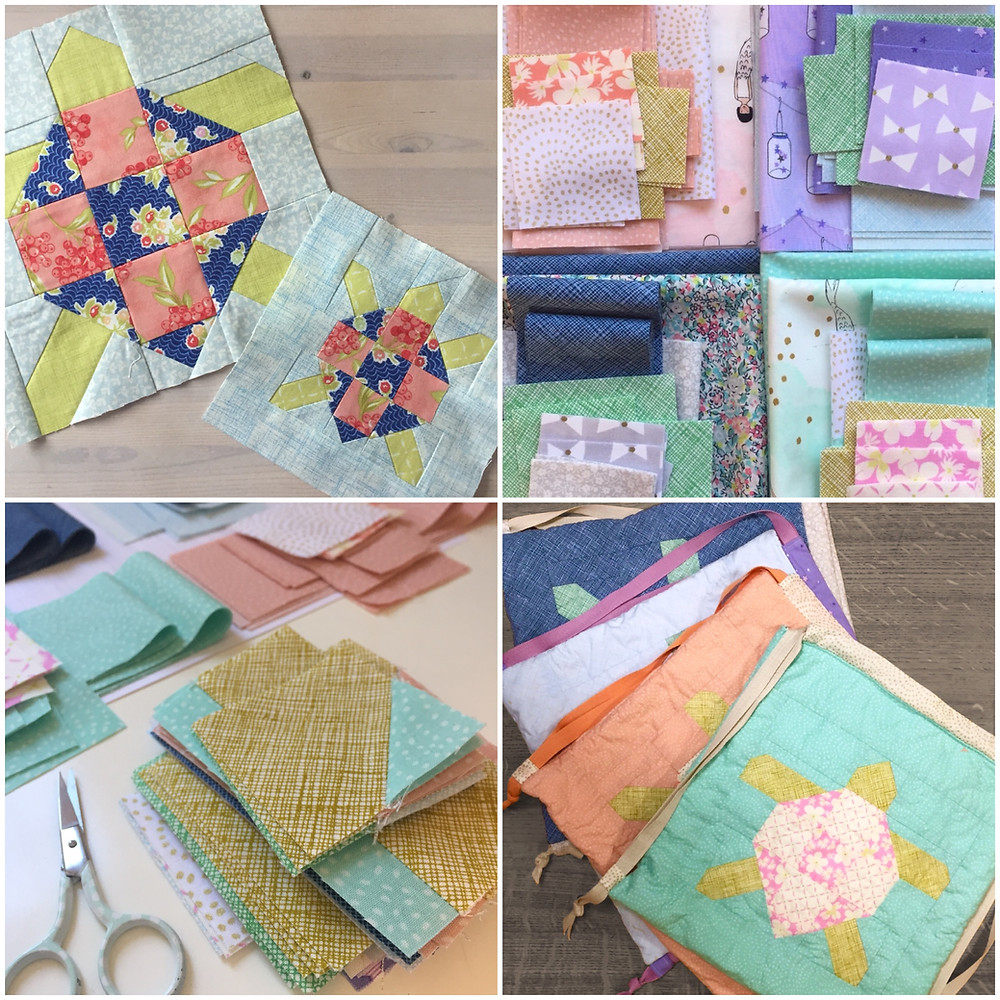 cakestand quilts nicola dodd mock turtle block happy wanderer bag
