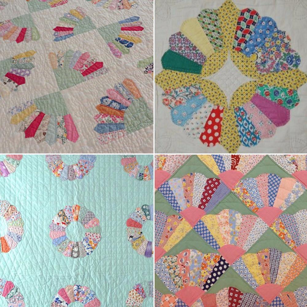 vintage dresden quilts