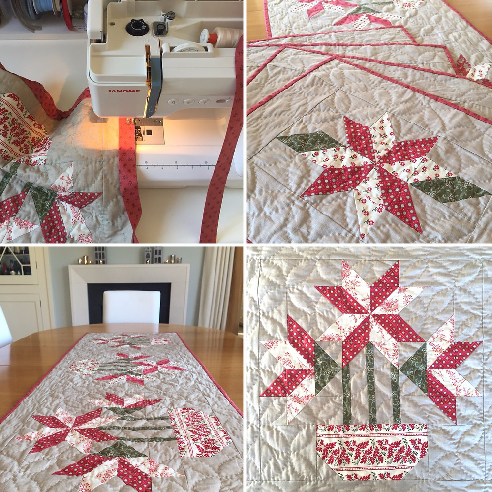 today's quilter festive table linen nicola dodd cakestand quilts