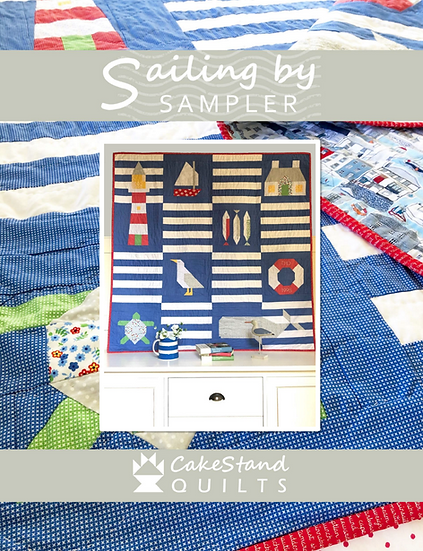 Sailing By Sampler Pattern Book