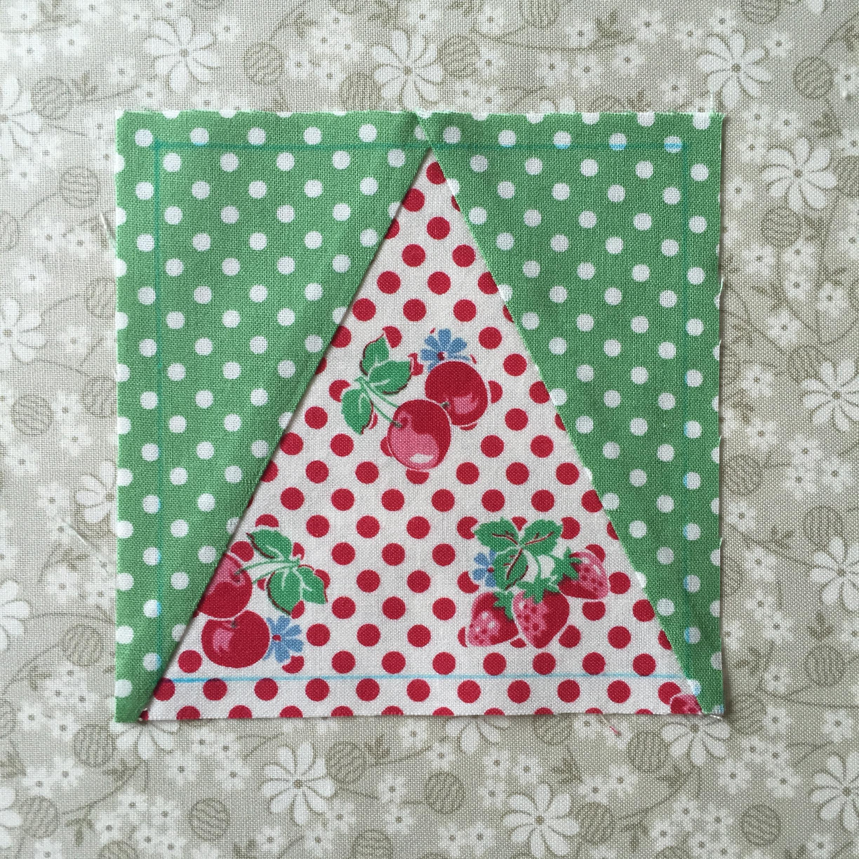 Triangle In A Square Block Nicola Dodd United Kingdom