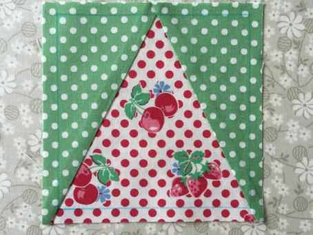 Triangle in a Square Block...